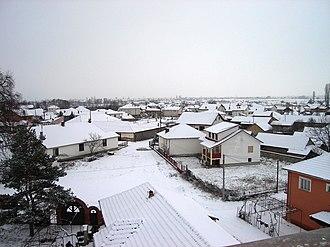 Ložani - Image: Lazhani panorama