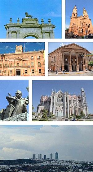 León, Guanajuato - Image: León montage