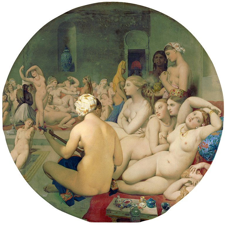 https://upload.wikimedia.org/wikipedia/commons/thumb/c/c9/Le_Bain_Turc%2C_by_Jean_Auguste_Dominique_Ingres%2C_from_C2RMF_retouched.jpg/771px-Le_Bain_Turc%2C_by_Jean_Auguste_Dominique_Ingres%2C_from_C2RMF_retouched.jpg