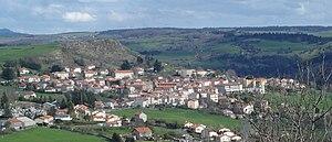 Le Monastier-sur-Gazeille - A general view of Le Monastier-sur-Gazeille
