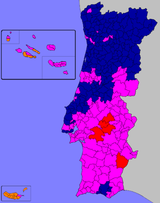 PxLegislativasportuguesasdeMapapng - Portugal election map