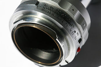 Leica M mount - Male part (lens)