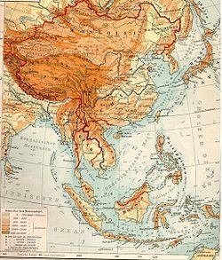 ... de 1903 de la región considerada tradicionalmente Extremo Oriente