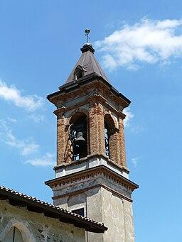 Lerma-santuario ns delle rocchette-campanile