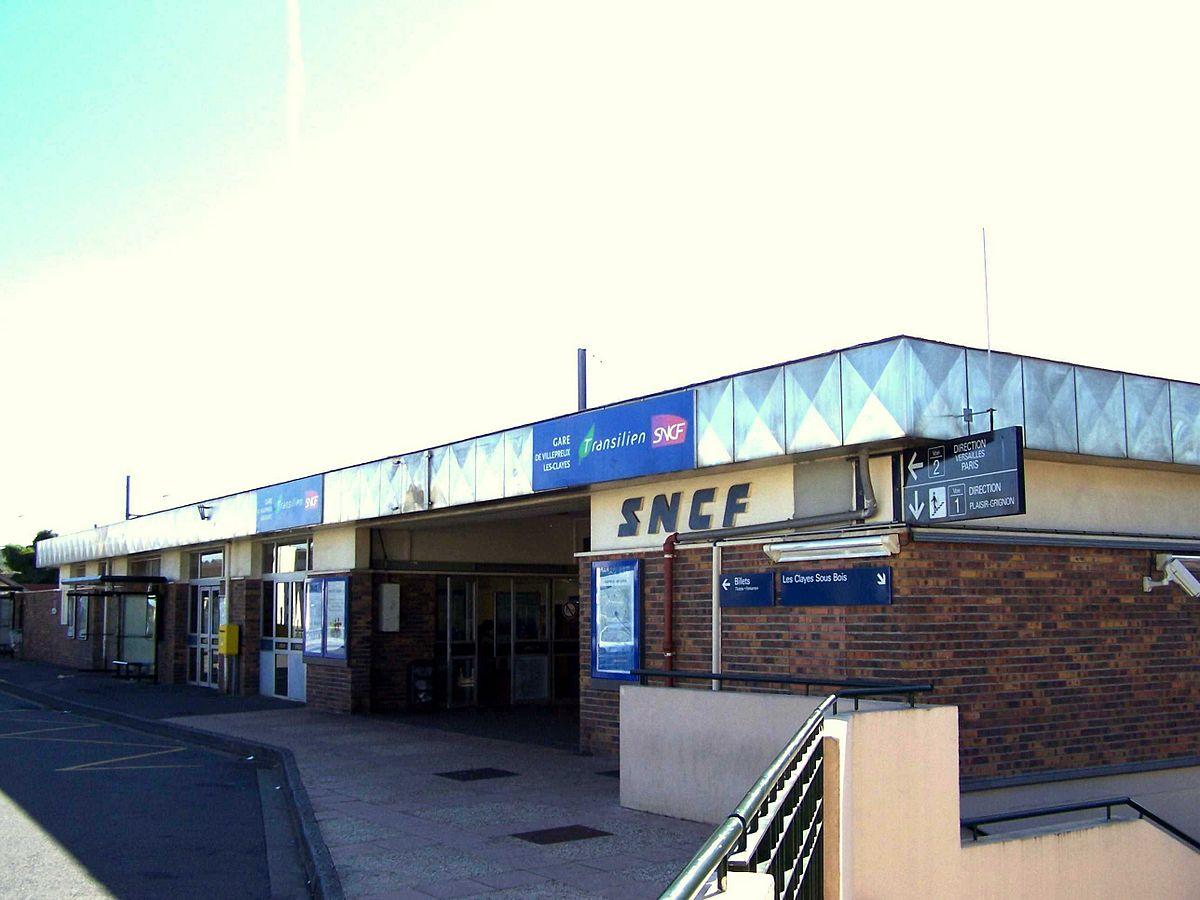 Gare de Villepreux Les Clayes u2014 Wikipédia # Ophtalmologue Les Clayes Sous Bois