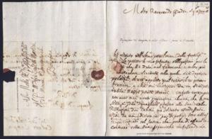 Charles-Antoine Campion - Image: Lettera di Campion a Martini 15 dic 1772