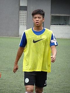 Leung Sing Yiu Hong Kong footballer