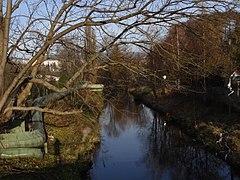 Liberec - Lužická Nisa z mostu v Londýnské ulici (pohled na severovýchod).jpg