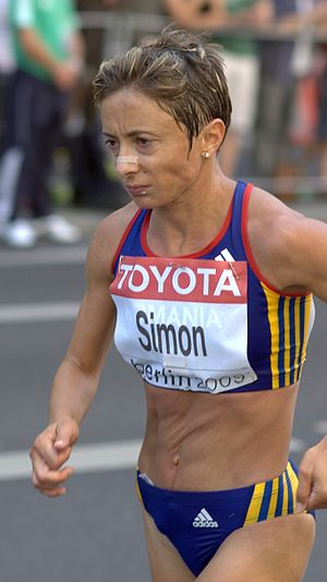 Lidia Șimon - Șimon at the 2009 World Championships