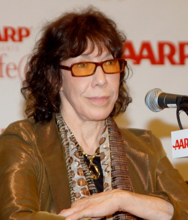 Photo Lily Tomlin via Wikidata