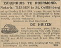 Limburger Koerier vol 079 no 163 advertisement Notaris THIJSSEN te St. Odiliënberg.jpg