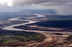 Річка лімпопо в мозамбіку