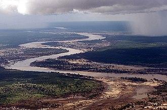 Limpopo River - Limpopo River in Mozambique