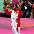 Lin Dan Celebrates His Gold Medal.jpg