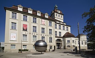 Linden Museum - Image: Linden Museum Stuttgart Hausansicht 1000px