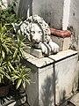 Lion's statue at Hathkhola Dutta Bari, Nimtalla, Kolkata, MA69.jpg