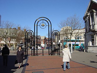 Liscard - Image: Liscard Town Centre by Sue Adair