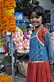 Little girl with garlands.JPG