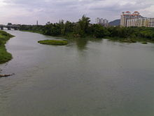Liuxi River in Jiekou Subdistrict