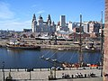 Liverpool - The Three Graces seen from Maritime Museum - geograph.org.uk - 1147393.jpg