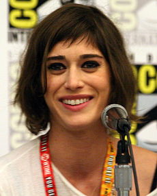 Lizzy Caplan på San Diego Comic-Con International 2012.