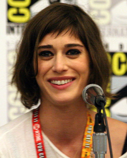Caplan at the 2012 San Diego Comic-Con, promoting Save the Date Lizzie Caplan CC2012.JPG