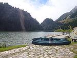 Llac de Nuria - barques.JPG