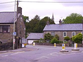 Llanharan - Image: Llanharan Town Square 2008