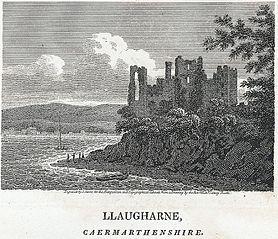 Llaugharne, Caermarthenshire