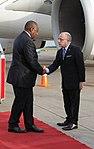 Llegada de Cyril Ramaphosa, presidente de Sudáfrica (44291800010).jpg
