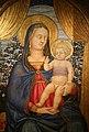 Lo scheggia, madonna in trono col bambino, 1440-50 ca. 02.jpg
