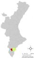 Localització de Crevillent respecte el País Valencià.png