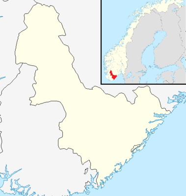Location map Norway Aust-Agder