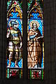 Lodève cathedral Saint-Fulcrain stained glass window381.JPG