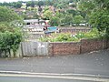 Looking from Bridgnorth Castle down onto the B4373 - geograph.org.uk - 1453556.jpg