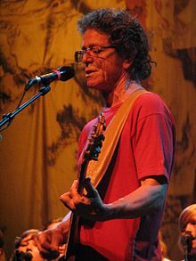 Lou Reed nel 2008 in Spagna