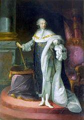 portrait de Louis XVI en costume de sacre
