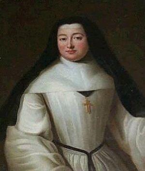 Fontevraud Abbey - Abbess Louise Françoise de Rochechouart (1664-1742)