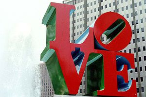 """Home of Robert Indiana's famed """"LOVE&quot..."""