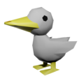 Low poly 3D duck.png
