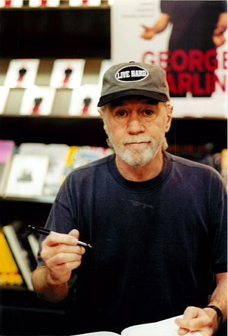 Religious satire - American comedian George Carlin was well known for his routines satirizing religion.