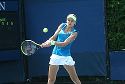 Lucie Šafářová at the 2010 US Open 02.jpg