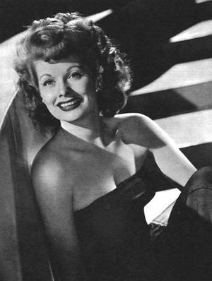 Cropped version of :Image:Lucille Ball - YankA...