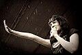 Ludmila Macha of Дайте2 (Dayte2) at the Invasion Festival 2009.jpg