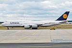 Lufthansa, D-ABYD, Boeing 747-830 (16457015335) (2).jpg