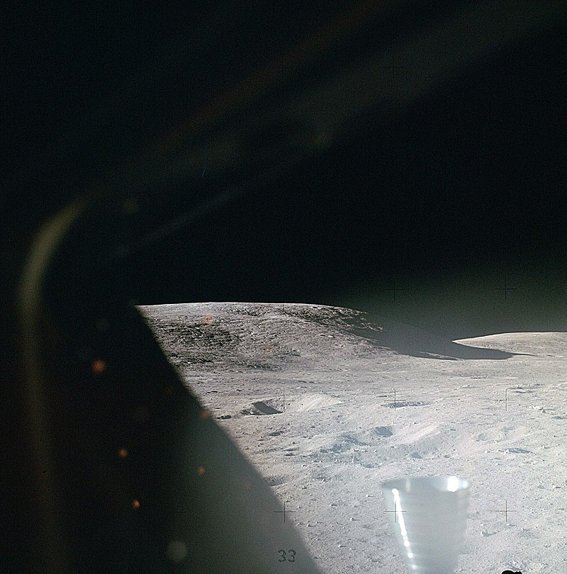 Lunar surface shortly after landing, Apollo 16.jpg