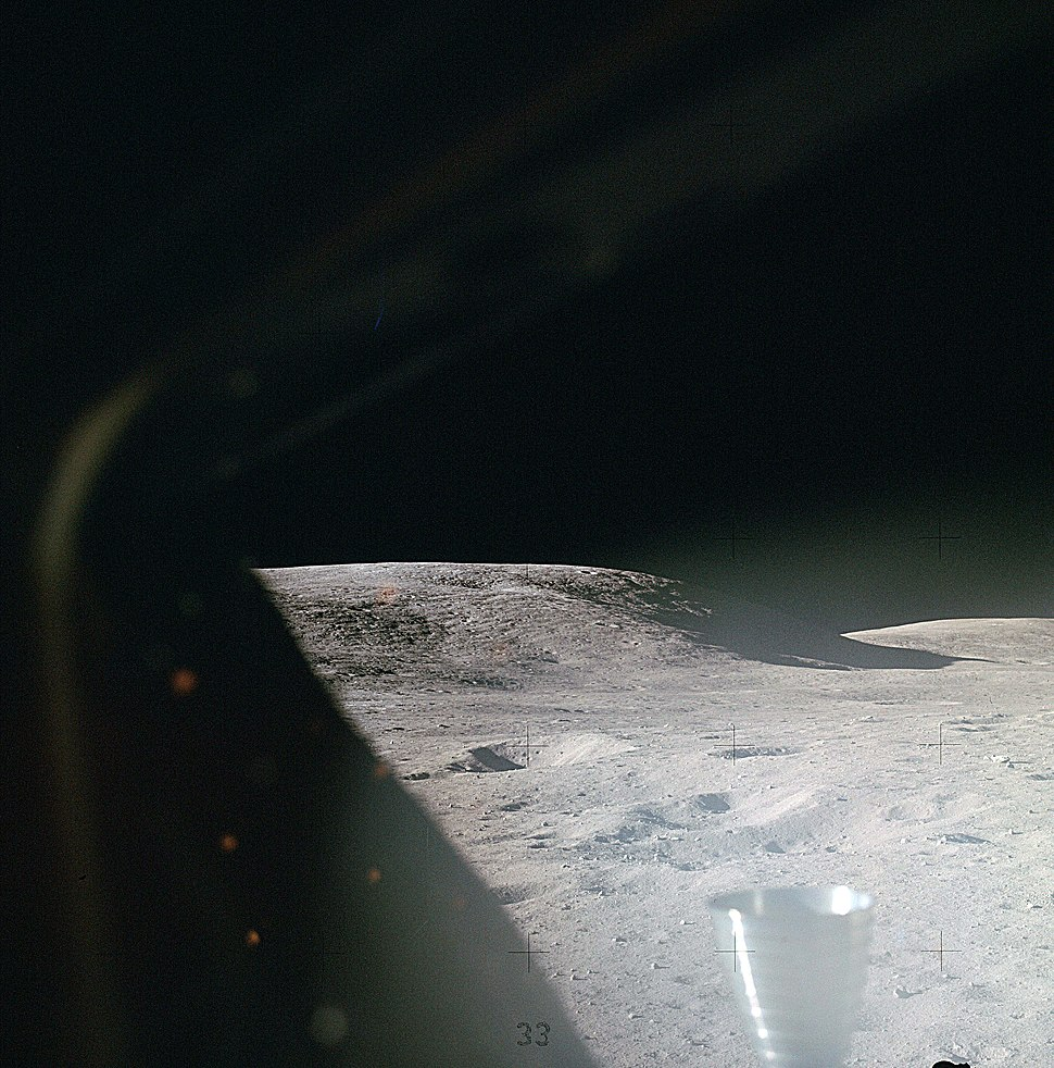 Lunar surface shortly after landing, Apollo 16