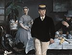 Luncheon in the Studio - Manet.jpg