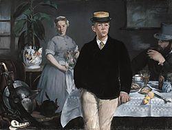 Édouard Manet: Le Déjeuner dans l'atelier