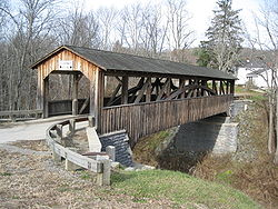 Luther's Mill Covered Bridge
